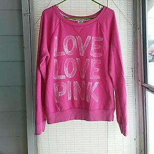 VS PINK animal print sweatshirt! So cute!